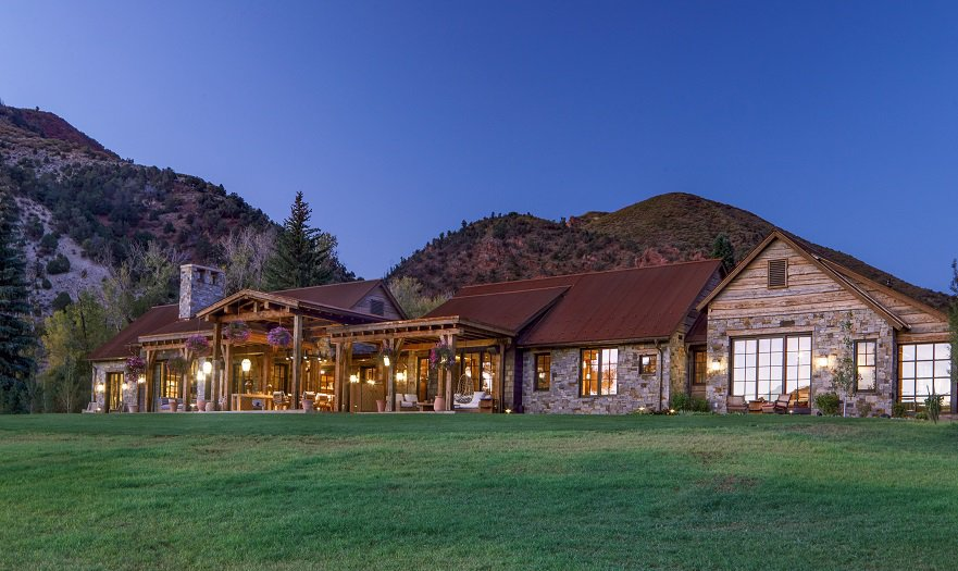 aspen valley ranch house