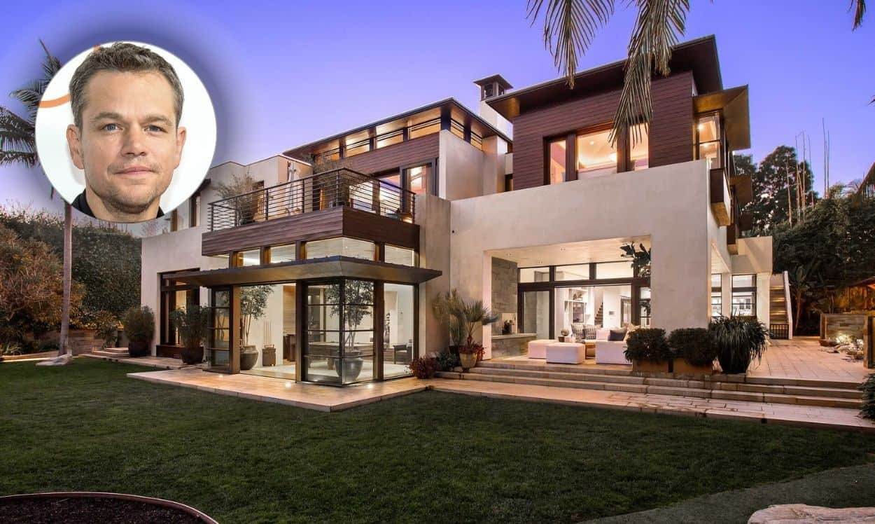 matt damon house in los angeles