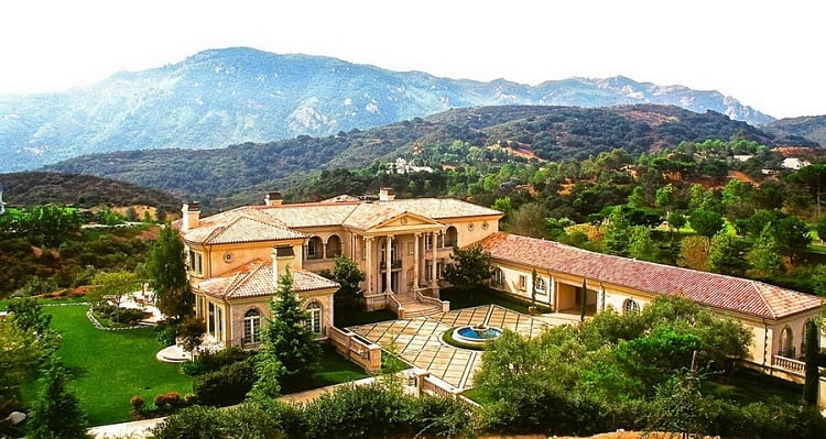 Britney Spears' house in Thousand Oaks, Calif.