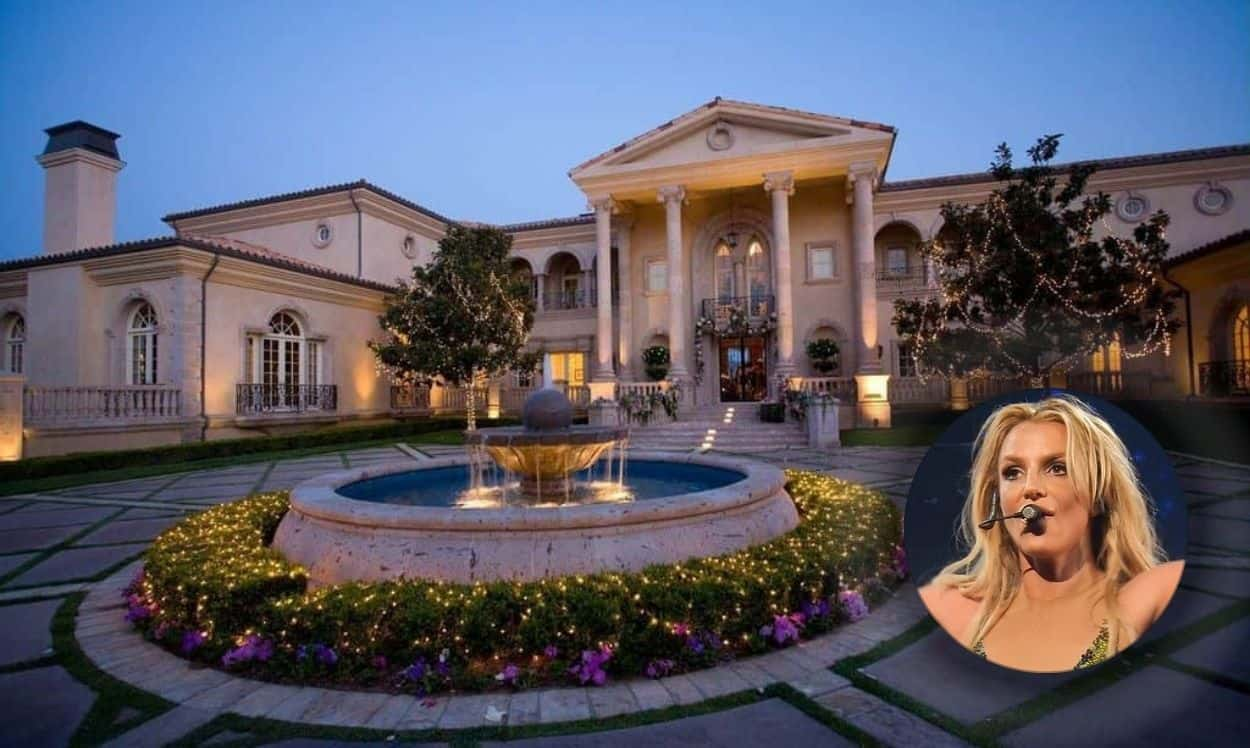 britney spears' house in thousand oaks, los angeles