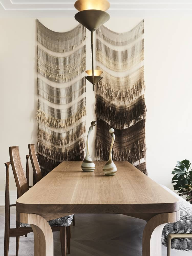 ryan korban designed interiors play with textures and colors
