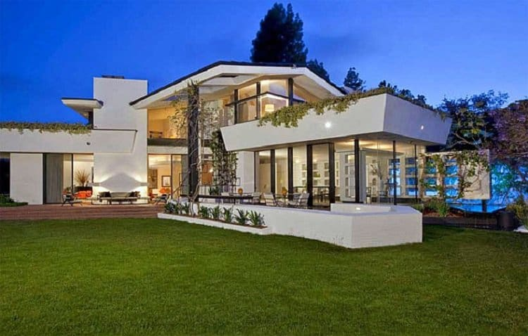 The Brody House, a Holmby Hills mansion set next to the Playboy Mansion which Ellen Degeneres and Portia De Rossi bought for $40 million and sold a year later for $55 million.