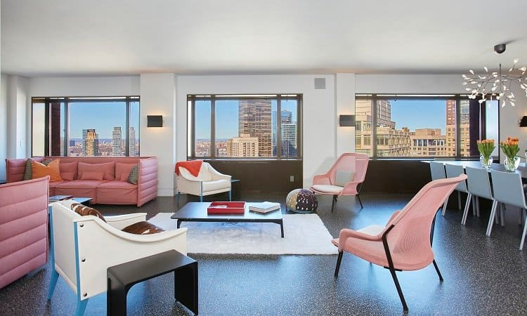 luxury apartment above lincoln center, in New York