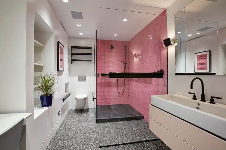luxury-bathroom-with-pink-shower