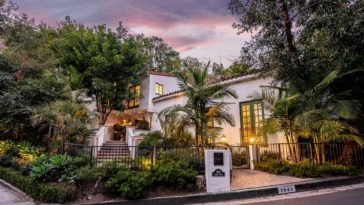 modernized spanish villa for sale above the sunset strip in los angeles