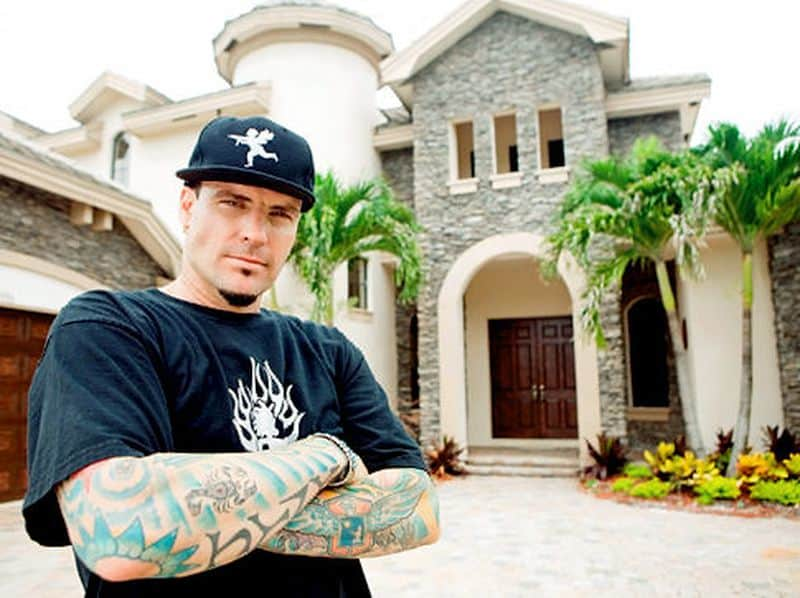 Vanilla Ice is now a prolific celebrity house flipper, and even has a TV show where he showcases his latest real estate projects. Image credit: DIY Network