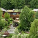 exterior shot of Xanadu 2.0, Bill Gates' house outside of Seattle Washington