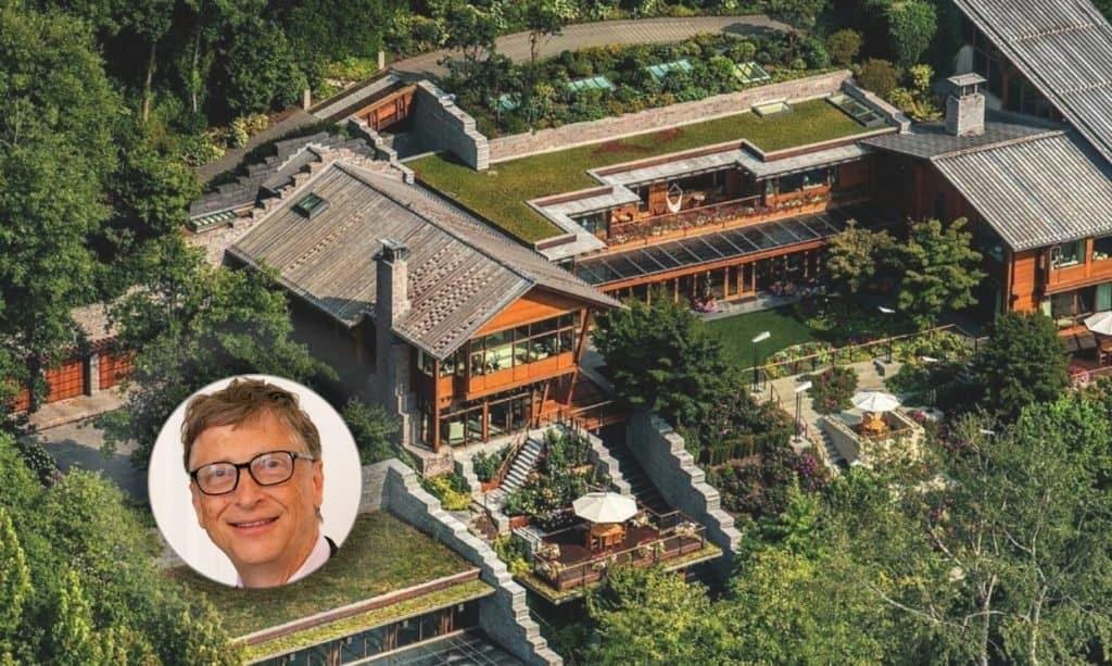 Bill Gates house near Seattle, Washington