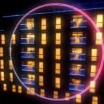 the apartment building in the circle reality tv show
