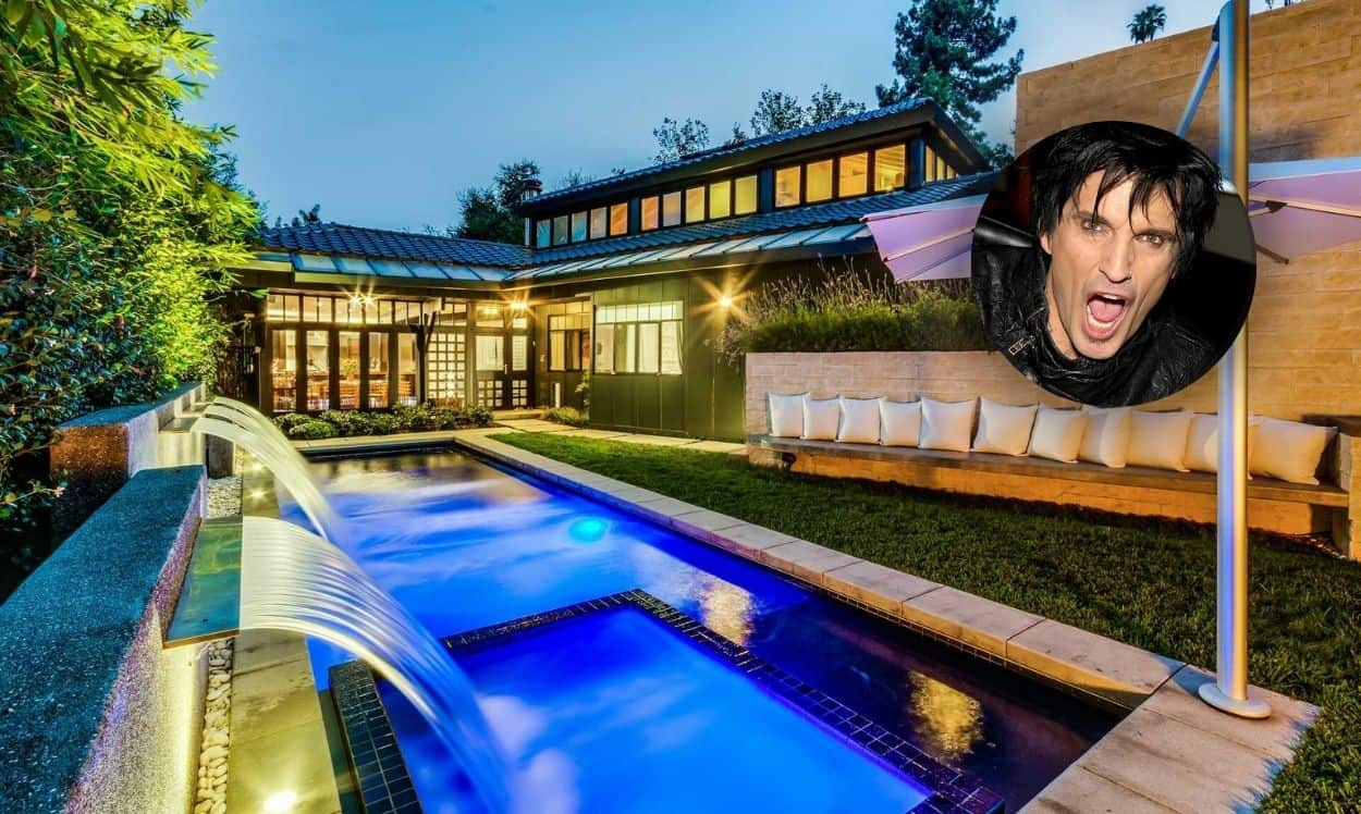 tommy lee buys house in los angeles, california