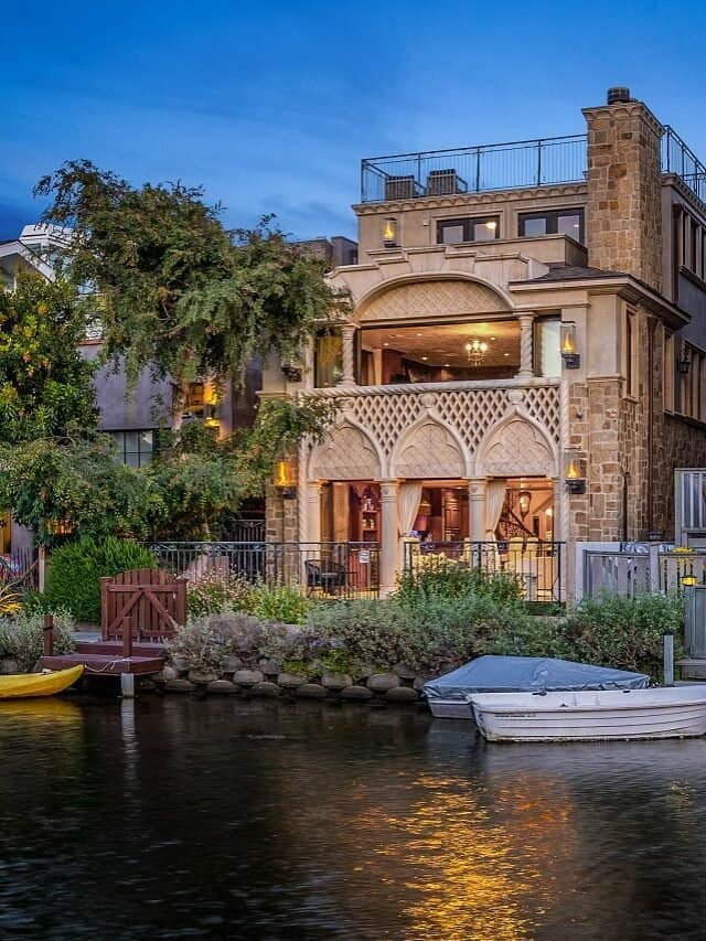 This $4.85 Million Home Hints at the Very Origins of Venice, CA