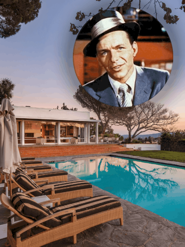 This $21.5 Million Estate Was Once Home to the Great Frank Sinatra