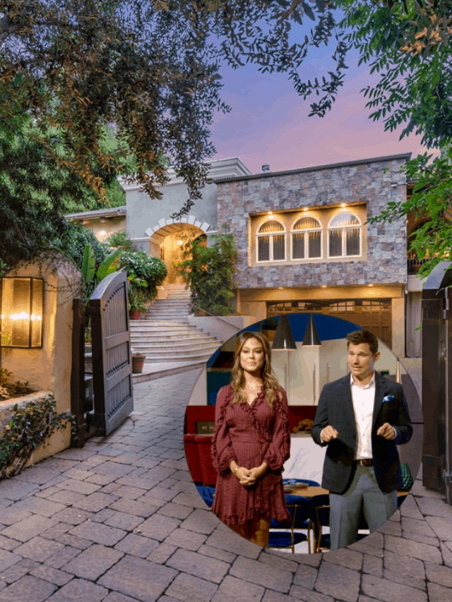 Nick & Vanessa Lachey's First Home as a Married Couple is Now for Sale